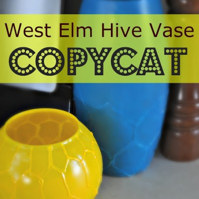 Copy Cat Challenge: West Elm Hive Vase