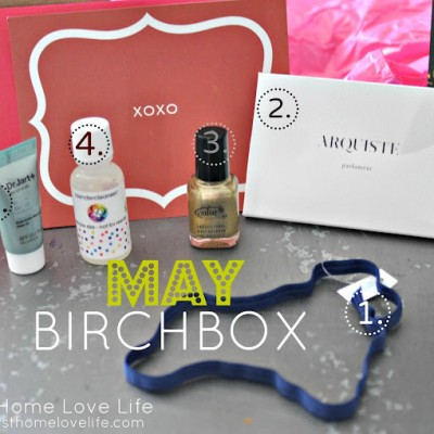 Yay!! My Box Came: May Birchbox