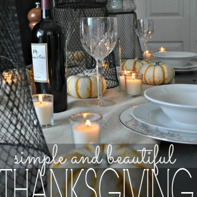 Creating A Casual Fall Tablescape