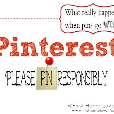 Pinterest: When Pins Go Wild