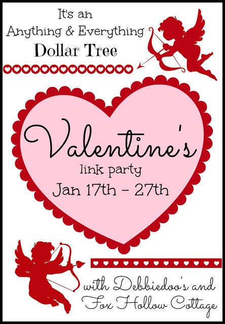 Valentine's Link Party framed