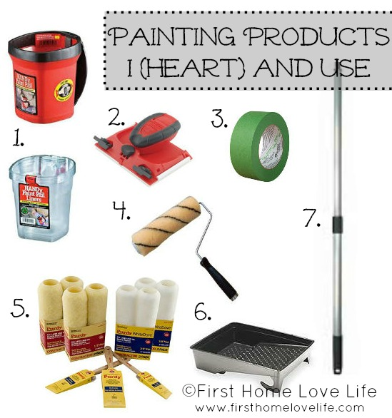 Painting 101 Products And Prep Work First Home Love Life
