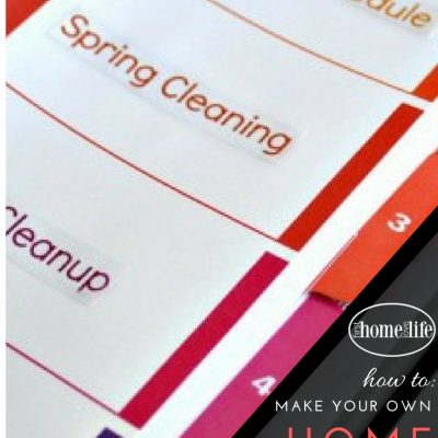 Learning to be Organized   Home Maintenance Binder