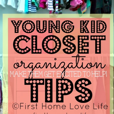Kids Closet Organization and Bedroom Progress