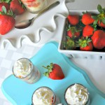 Four Ingredient- Strawberry Shortcake Shooters