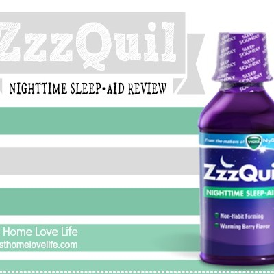ZzzQuilNight Campaign:  ZzzQuil Sleep Aid Review