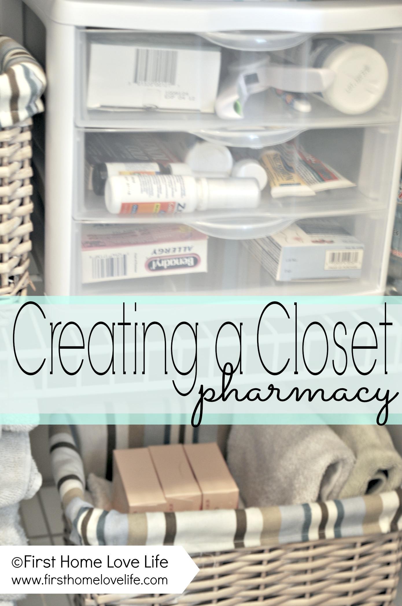 Linen Closet Organization And Closet Pharmacy First Home