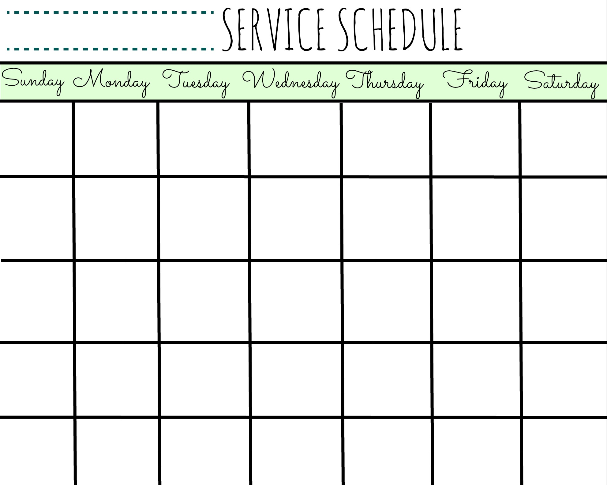 Christmas Decorating Ideas Service Schedule Calendar Printable First Home Love Life