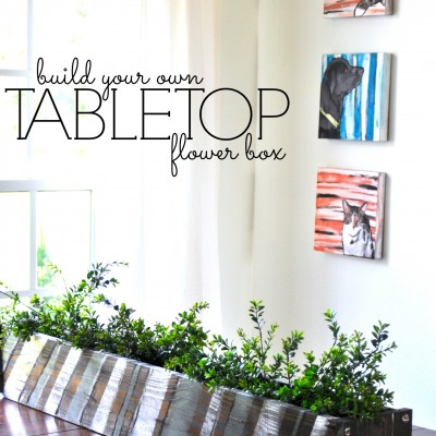 Build It: Tabletop Flower Box