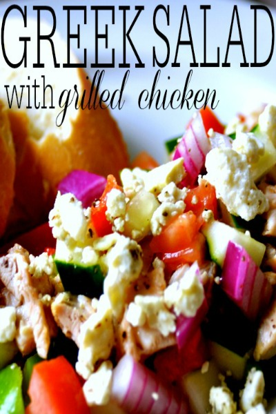 grilled chick salad