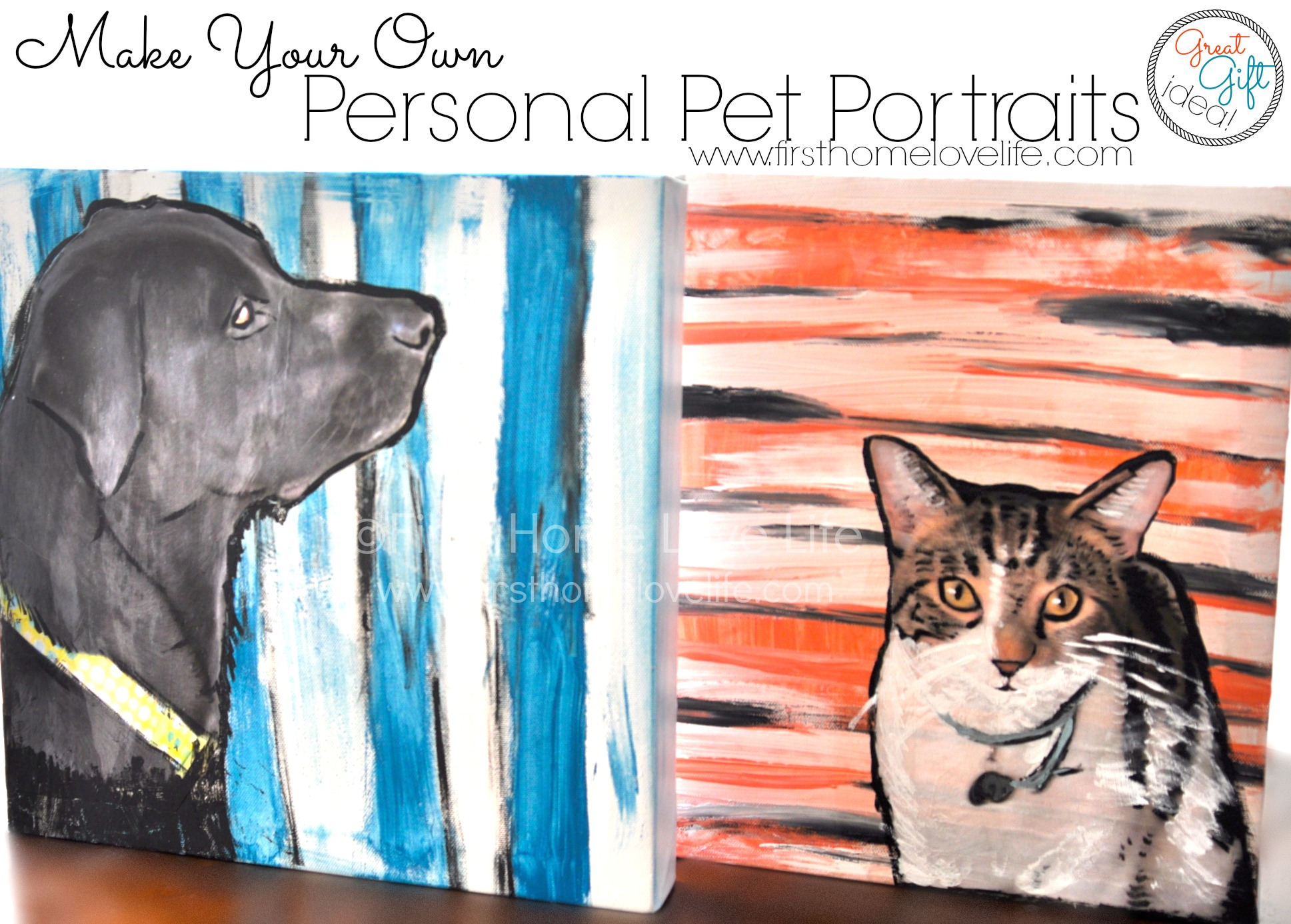 Paint Your Own Pet Portrait Using Mod Podge First Home Love Life Hometalk How To Color Code Circuit Breaker Box