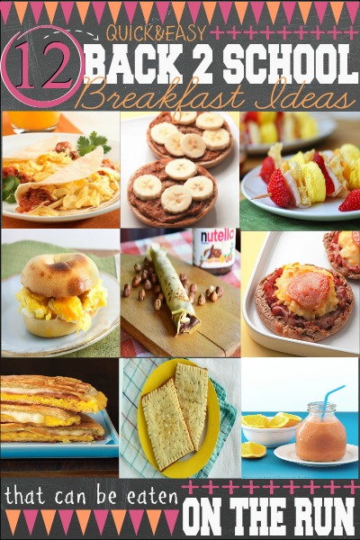Easy Back To School Breakfast Ideas First Home Love Life