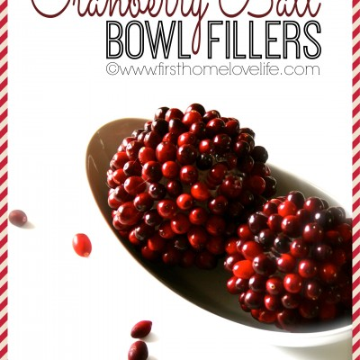 Fresh Cranberry Balls