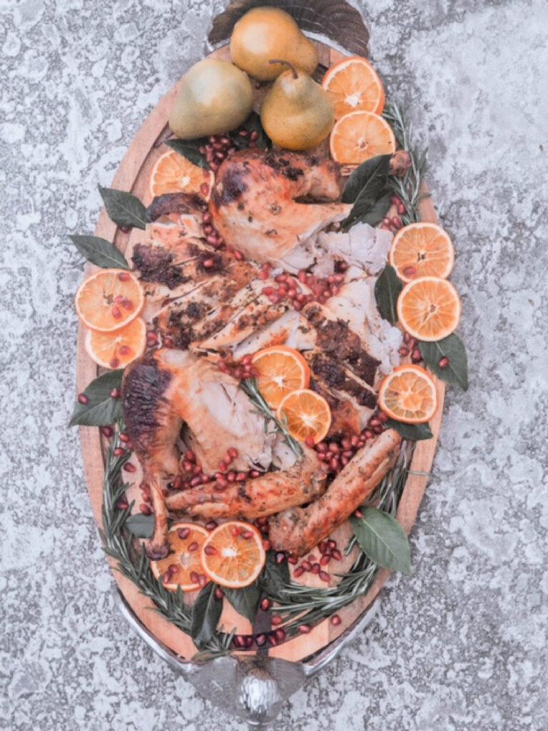 best way to carve a turkey for pretty presentation