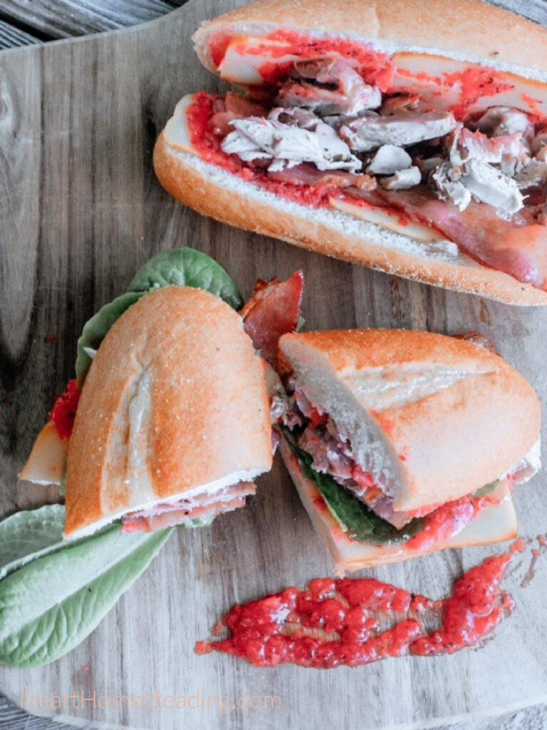 best leftover turkey sandwich