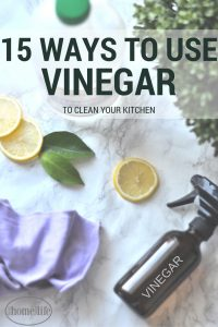 15 KITCHEN CLEANING METHODS USING VINEGAR! GREAT GREEN CLEANING TIPS AND TRICKS VIA FIRSTHOMELOVELIFE.COM
