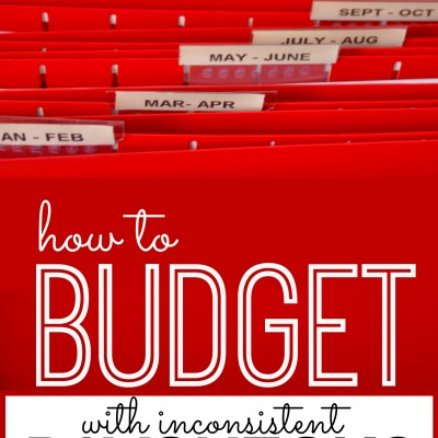 How To Budget When Paychecks Differ