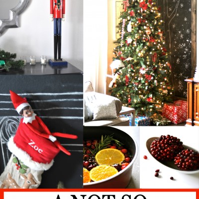 An Anti-Pinterest Christmas Home Tour