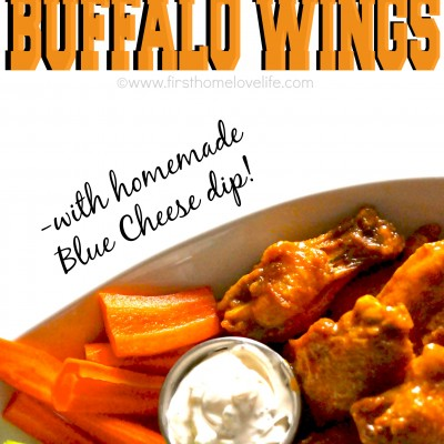 Crispy Baked Buffalo Chicken Wings