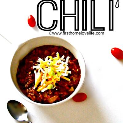 The Best Chili Recipe