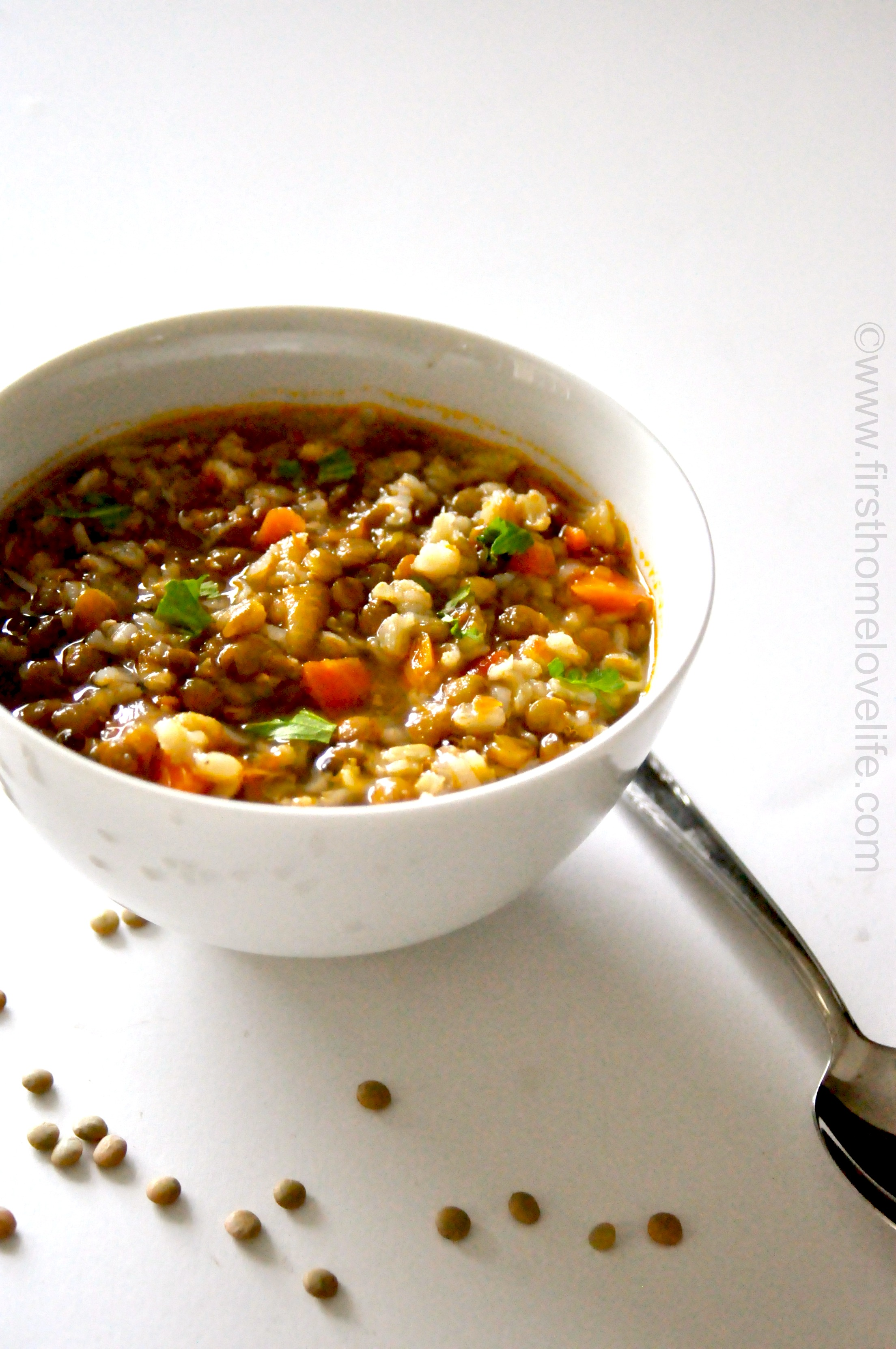 Lentil And Brown Rice Soup First Home Love Life