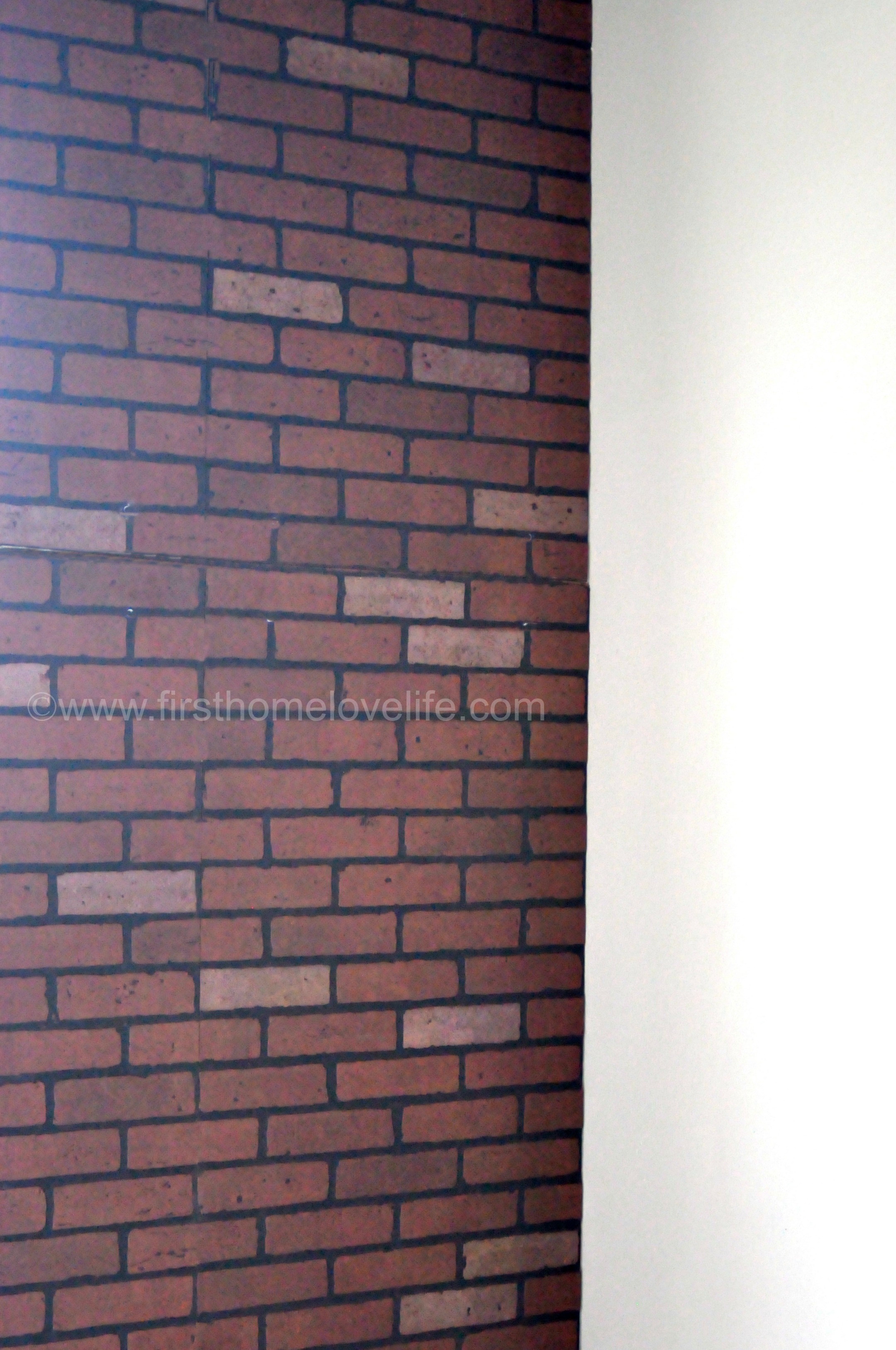 Entryway Organization Ideas Faux Brick Ifying First Home Love Life