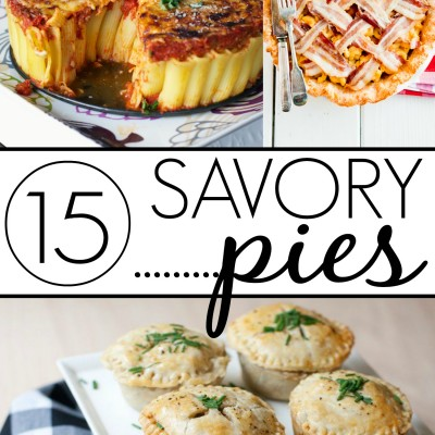 15 Succulently Savory Pies!