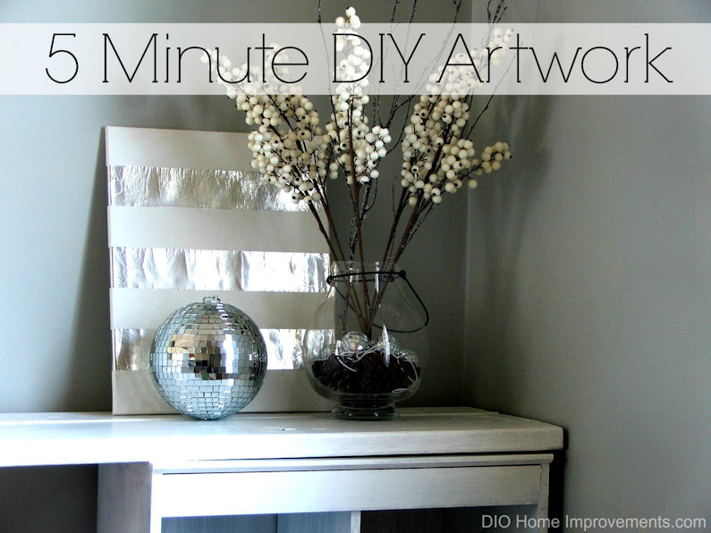 DIY Tape Art by Dio Home Improvements