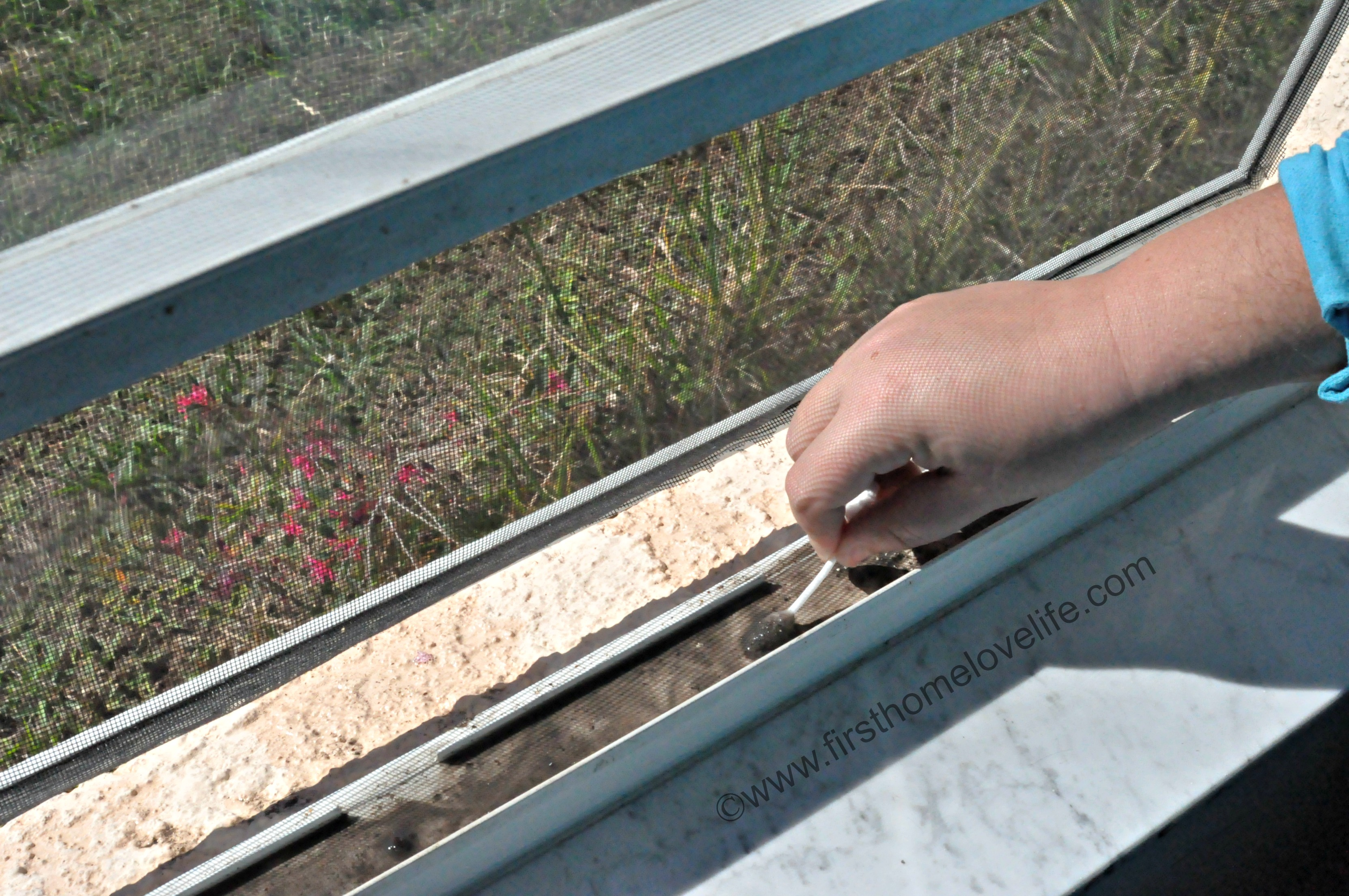 How To Clean Window Tracks First Home Love Life