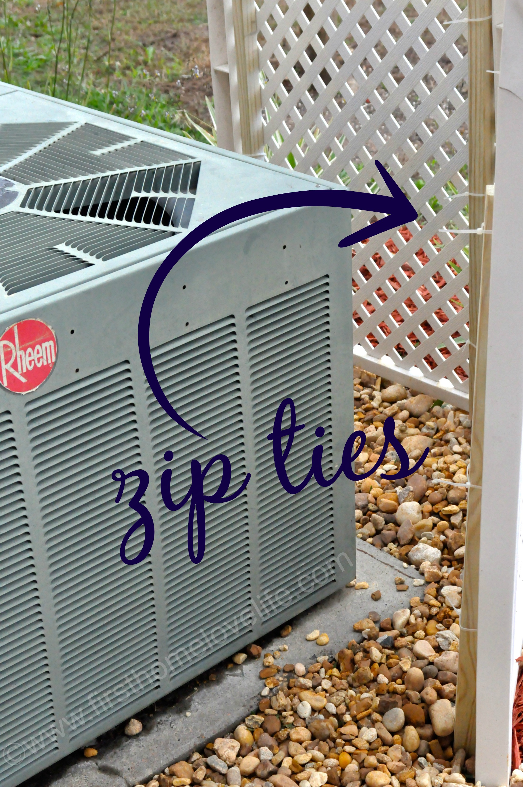 Picture of: Covering Up An Ac Unit First Home Love Life