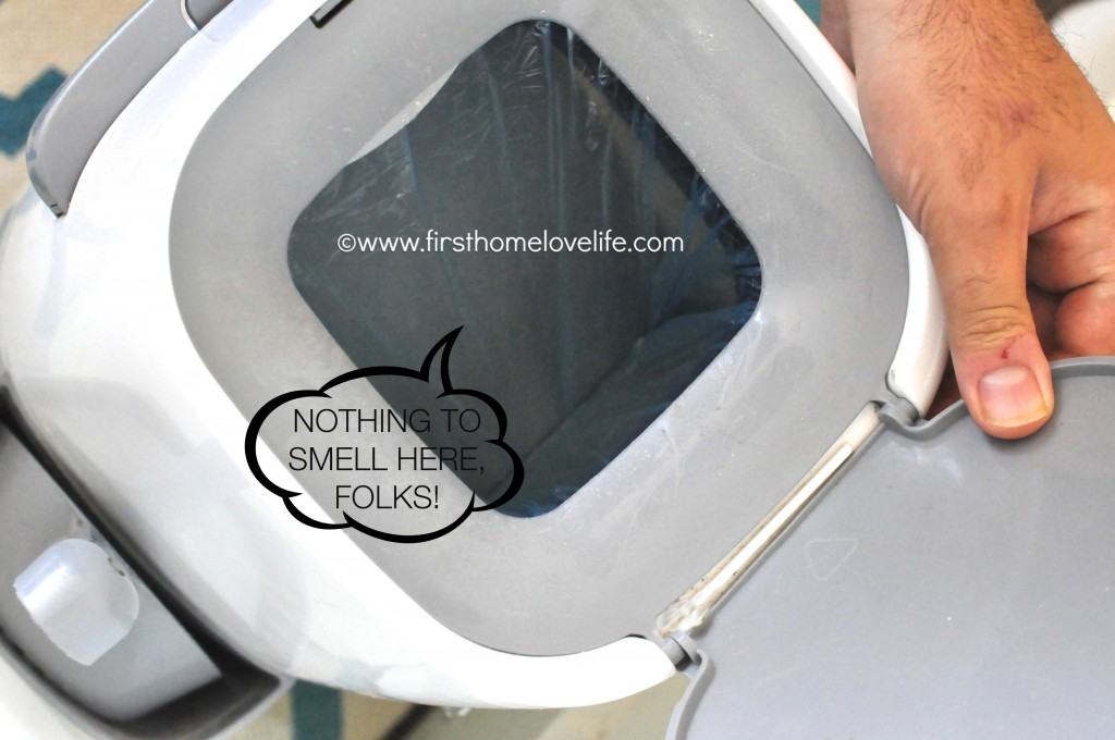 No more litter box odor with this simple system! #cats #pets