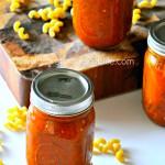 perfect crockpot marinara recipe via firsthomelovelife.com