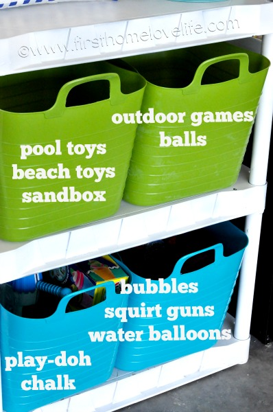 "GARAGE ORGANIZATION SERIES: OUTDOOR TOY STORAGE SOLUTIONS: CREATING A ""KID ZONE"""