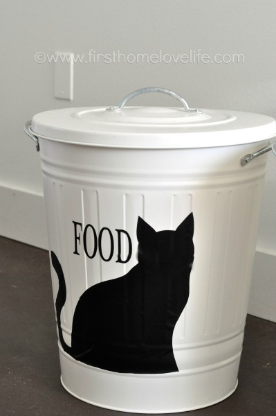 Cat Food Storage Container