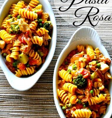Easy One Pot Pasta Rosa