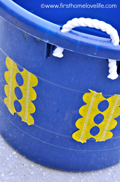 frogtape circles bucket