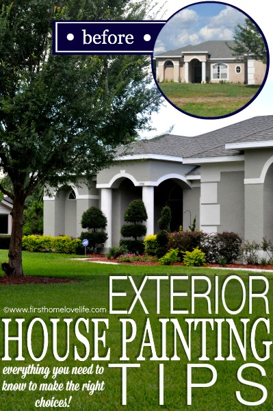 Everything you need to know to make the right choices with these exterior house painting tips!