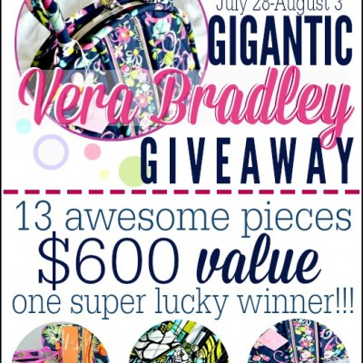 $600 Vera Bradley Prize Pack