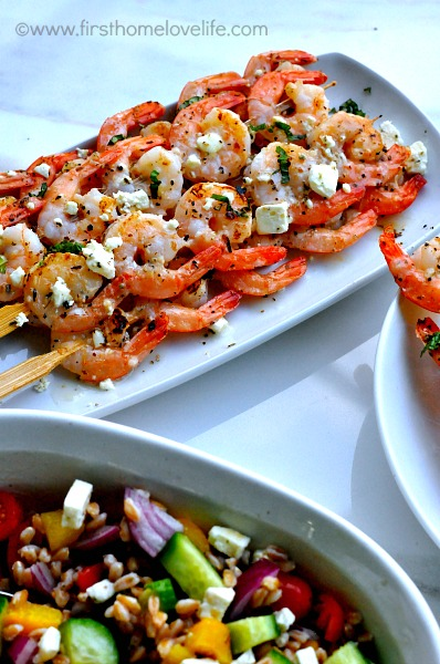 greek grilled shrimp