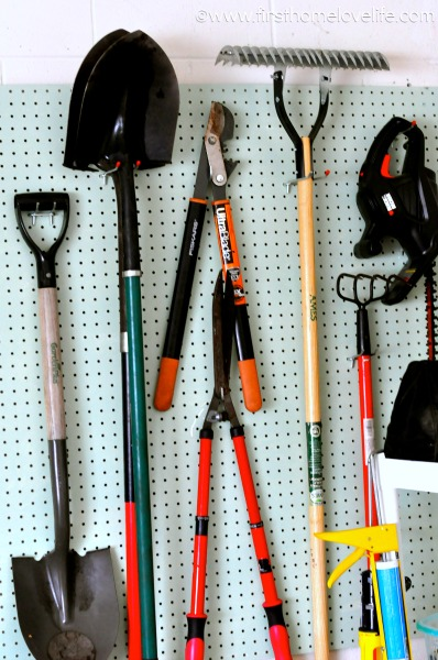 Garage Organization Yard Tools First Home Love Life