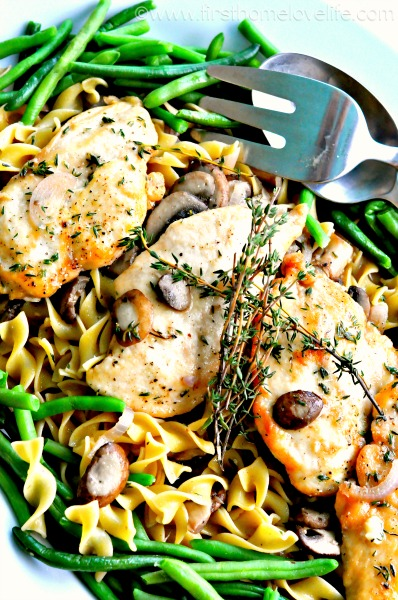 CHICKEN MARSALA-EASY AND DELICIOUS
