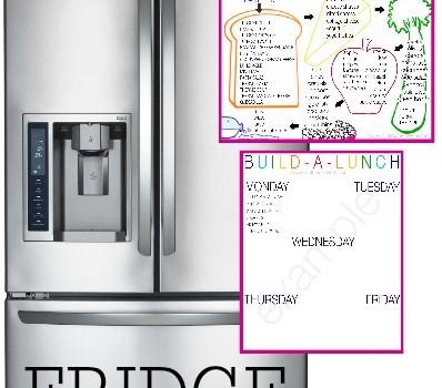 School Lunch Planning Printables