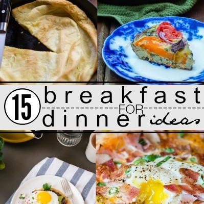 Breakfast for Dinner Recipes