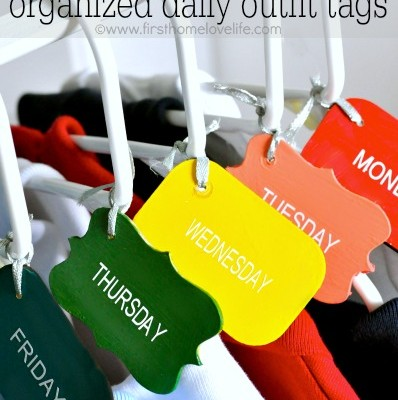 Daily School Outfit Tags