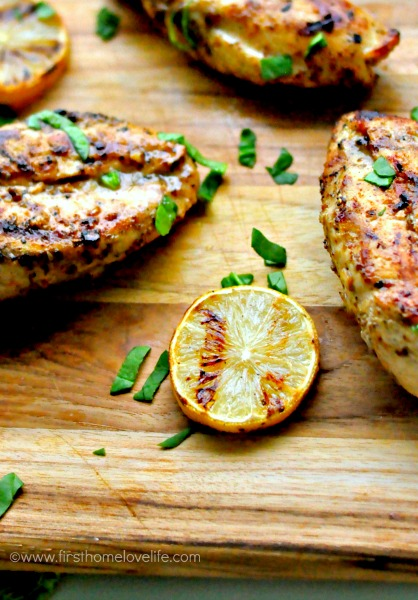grilled lemon