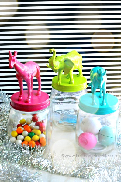 bokah animal jars
