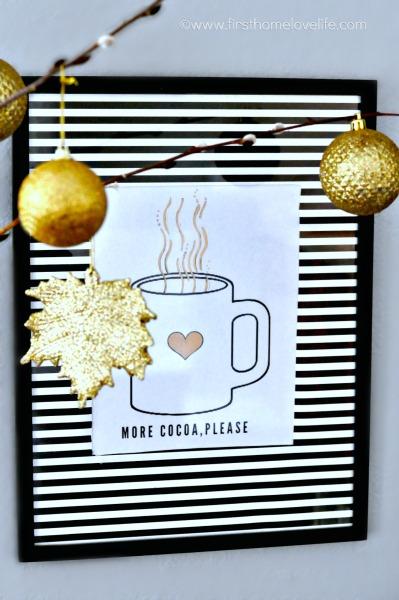 hot chocolate printable