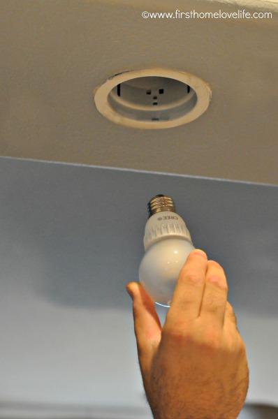 CREE LED recessed light