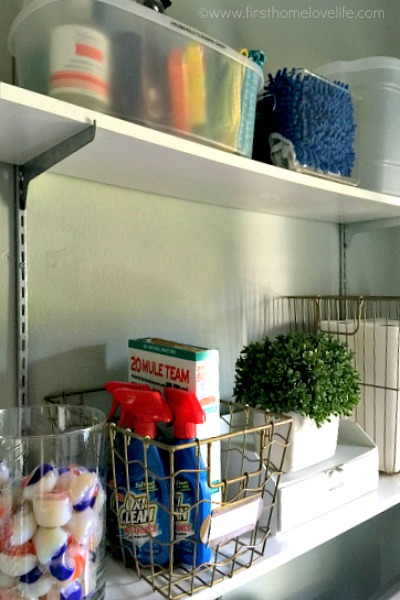 laundry room storage organization