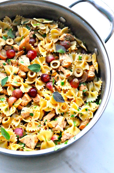 mediterranean pasta via first home love life